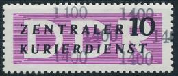 DDR DIENST VERWALTUNGSPOST-A ZKD Nr 10 N1400 Postfrisch X1D29EA - Oficial