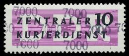 DDR DIENST VERWALTUNGSPOST-A ZKD Nr 10 N7000 Postfrisch X1D29FE - Oficial