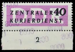 DDR DIENST VERWALTUNGSPOST-A ZKD Nr 12 N8000 Postfrisch X1D2BB2 - Oficial