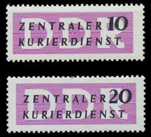 DDR DIENST VERWALTUNGSPOST-A ZKD Nr I-II Postfrisch SC9C42A - Oficial