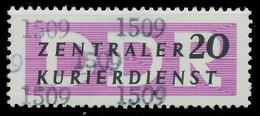 DDR DIENST VERWALTUNGSPOST-A ZKD Nr 15 N1509 Postfrisch X1D76B2 - Oficial