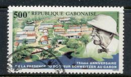 Gabon 1988 Albert Schweitzer FU - Gabon (1960-...)