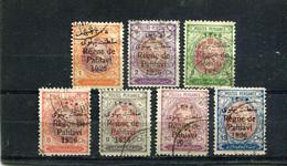 Iran 1926 Yt 494-500 - Irán