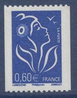 N° 3973 Marianne De Lamouche Roulette Valeur Faciale 0,60 € - 2004-08 Marianne Van Lamouche