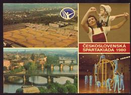 AK 008098 CZECH REPUBLIK - Praha - Ceskoslovensko Spartakiada 1980 - Repubblica Ceca