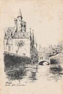 Brugge, Bruges, Ancien Hotel Grunmuse - Brugge