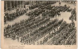 5THS 32 CPA - LES ALLEMANDS A BRUXELLES - War 1914-18