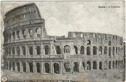 51aa 68 CPA - ROMA IL COLOSSEO - Colosseo