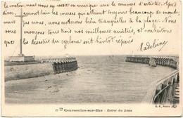 51aa 2043 CPA - COURSEULLES SUR MER - ENTREE DES JETEES - Courseulles-sur-Mer