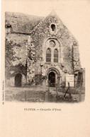 Dept 28,Eure Et Loir,Cpa Cloyes,Chapelle D'Yron - Cloyes-sur-le-Loir