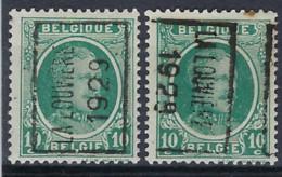 HOUYOUX Nr. 194  Voorafgestempeld Nr. 4730 A + B LA LOUVIERE 1929 ; Staat Zie Scan ! - Roller Precancels 1920-29
