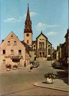 ! Moderne Ansichtskarte Aus Selb, Kirche, Reformhaus, Autos, VW Käfer, Bayern - Selb