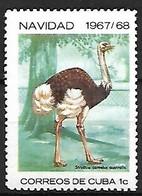 Cuba - MNH ** 1967 :   Common Ostrich  -  Struthio Camelus - Ostriches