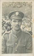 CARTE PHOTO SOLDAT - Guerra 1914-18