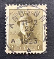 OBP 166 - 2c - EC ANDENNE - 1919-1920 Behelmter König