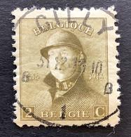 OBP 166 - 2c - EC GILLY - 1919-1920 Albert Met Helm