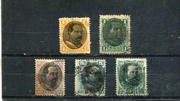 Pérou 1894 Yt 83-85 87-88 - Peru