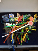 Lot De 38 Touilleurs De Bistrot Neuf - Swizzle Sticks
