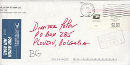 USA 2004 Postal History Cover - A Letter To Bulgaria MISSENT TO BOLIVIA - Briefe U. Dokumente