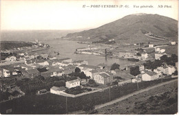 FR66 PORT VENDRES - Nd 17 Vue Générale - Belle - Port Vendres