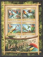 AA399 LAST 3 IN STOCK 2016 GUINEE GUINEA FAUNA BIRDS BEE-EATERS GUEPIERS 1KB MNH - Disease