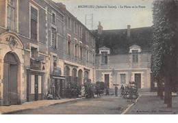 37. N°55807.richelieu.la Place Et La Poste - Andere Gemeenten