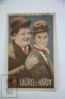 Original 1934 Oliver The Eighth Cinema / Movie Advt. Brochure - Lloyd French - Cast: Stan Laurel & Oliver Hardy - Cinema Advertisement