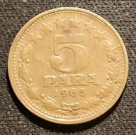 YOUGOSLAVIE - YUGOSLAVIA - 5 PARA 1965 - KM 42 - Yugoslavia