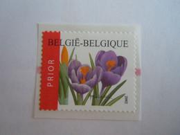 België Belgique 2002 Crocus Krokus Bloem Fleur Timbre Rouleau Rolzegel Avec Ligne Rouge Au Dos R105 3142 Yv 3135A MNH ** - Franqueo