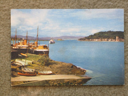 OBAN HARBOUR - DIXON CARD - Argyllshire