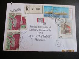 Belle Lettre En Recommandée - Costa D'Avorio (1960-...)