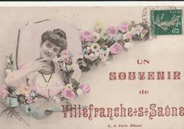 Un Souvenir De VILLEFRANCHE Sur SAÔNE - Villefranche-sur-Saone