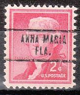 USA Precancel Vorausentwertung Preo, Locals Florida, Anna Maria 734 - Precancels