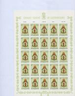 Luxembourg - Luxemburg - Timbres  1963 -CARITAS -  St Thibaut , Patron Des Métiers - Feuille à 25  10F.+5,90F.   MNH** - Blokken & Velletjes