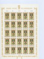 Luxembourg - Luxemburg - Timbres  1963 -CARITAS -  St Barthélemy, Patron Des Boucher - Feuille à 25  6F.+50C.   MNH** - Blokken & Velletjes