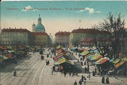 ITALIE - TORINO - Piazza Emanuele Filiberto- Porta Palazzo - Places