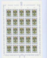 Luxembourg - Luxemburg - Timbres  1963 -CARITAS -  St Roch, Patron Des Boulangers - Feuille à 25   50C.+10C..   MNH** - Blokken & Velletjes