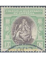 Ref. 210849 * USED * - SPAIN. 1926. ALLEGORY-POST OFFICES ORPHANS . ALEGORIA-HUERFANOS DE CORREOS - Cartas