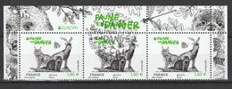 "2021 - Y/T 5488  ""FAUNE EN DANGER EUROPA"" - HAUT FEUILLET - OBLITERE 1er JOUR - 21.05.21 STRASBOURG - 2010-.. Matasellados"