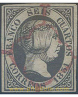 Ref. 650352 * USED * - SPAIN. 1851. ISABEL II . ISABEL II - Covers & Documents
