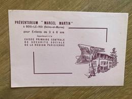 "BUVARD PREVENTORIUM "" MARCEL MARTIN "" - Bank En Verzekering"