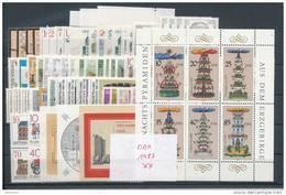 DDR Jahrgang 1987 ** Komplett Mi. 30,- - Unused Stamps