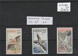 MAURITANIE 1964  OISEAUX PA 34/36 ** COTE 30 EUROS - Mauritania (1960-...)