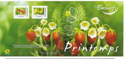 France 2021 - Collector - Les Exclusifs Du Printemps - Les Petites Recettes (fraises) ** (4 Timbres Adhésifs) - Collectors