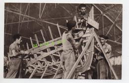 WWII - CHANTIERS DE LA JEUNESSE - FABRICATION D'UN BATEAU - TEXTE MARECHAL PETAIN - TAMPON OFLAG XVIII A - Guerre 1939-45