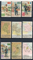 85 Stuks Cartes Collection La Poste -  Recto Facteurs - Verso Atlas - UNICOL Chocolat - Union Coloniale Soc. An. BINCHE - Andere