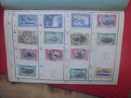CONGO BELGE OBLITEREES Et/ou NEUVES Sur CHARNIERES En CARNET (5) POIDS MOYEN=55 Grammes Par Carnets - Collections (en Albums)