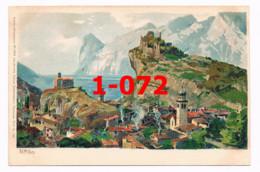 1-072 Zeno Diemer Zieher Nago Torbole Gardasee Künstlerkarte Rarität - Ohne Zuordnung