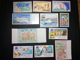 Nouvelle Calédonie Lot Divers PA N** TB. A Voir. Cote 60€ - Unused Stamps
