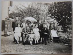Belley, Fond-de-Vay (Ain), 4 Septembre 1927, Photo Famille - Personas Anónimos